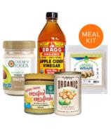 Smashed Chickpea Salad Wraps Meal Kit Bundle