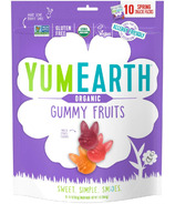 YumEarth Organic Gummy Fruit Spring Snack Packs
