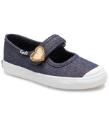 Keds Little Kids Harper Denim Sparkle