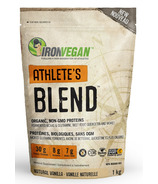 IronVegan Athlete's Blend Protein Vanille