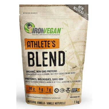 IronVegan Athlete\'s Blend Protein Vanilla