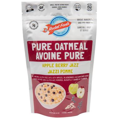 Rocket Foods Apple Berry Jazz Oatmeal