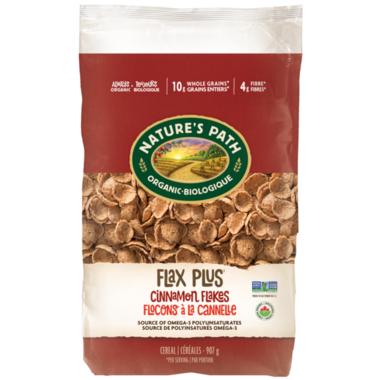 Nature\'s Path Organic Flax Plus Cinnamon Flakes Eco Pack