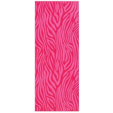 Gaiam Kids Printed Yoga Mat Pink Zebra