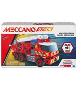 Meccano Junior Rescue Fire Truck Kit