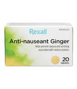 Rexall Ginger Anti-Nauseant Tablets