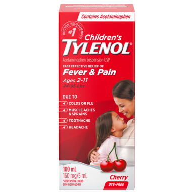 Tylenol Children\'s Acetaminophen Suspension Liquid