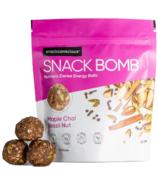 Snack Conscious Snack Bomb Maple Chai Brazil Nut