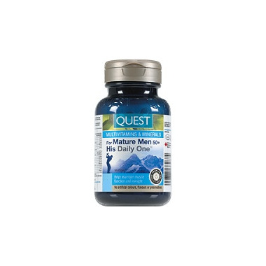 Quest His Daily One For Mature Men 50+