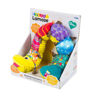 Lamaze Early Learning Musical Inchworm