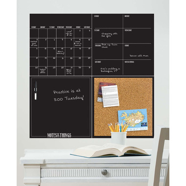 WallPops Black Dry Erase Organization Kit