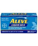 Aleve Liquid Gels 220 mg