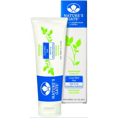 Nature\'s Gate Cool Mint Gel Natural Toothpaste