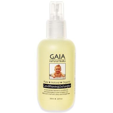 Gaia Natural Baby Conditioning Detangler