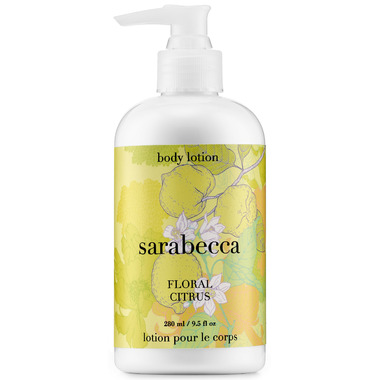Sarabecca Floral Citrus Body Lotion