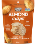 Hippie Snacks Almond Crisps Cheezy Chive