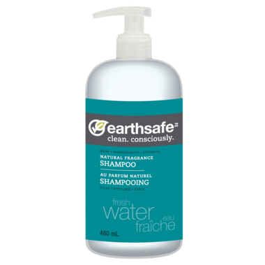 EarthSafe Fresh Water Shampoo Natural Fragrance