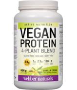 Webber Naturals Active Nutrition Vegan Protein Vanilla Cream