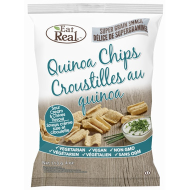 Eat Real Quinoa Chips Sour Cream & Chives