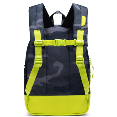Herschel Supply Heritage Youth Night Camo & Lime Punch