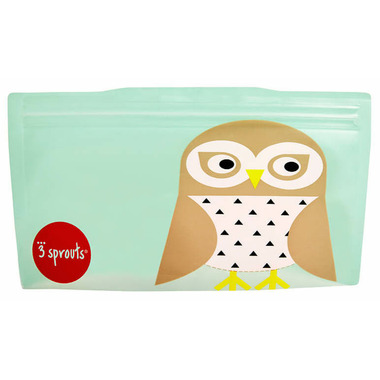 3 Sprouts Snack Bags Owl