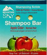 Mountain Sky Apple cider Shampoo Bar