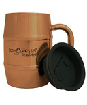 Eco Vessel Double Barrel Insulated Copper Moscow Mule Mug
