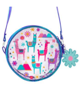 Stephen Joseph Iridescent Crossbody Kid's Purse Llama