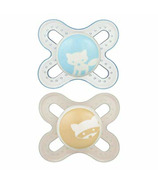 Mam Silicone Start Pacifier Blue