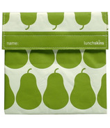 Lunchskins Green Pear Sandwich Bag