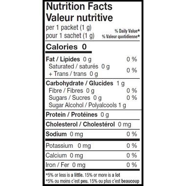 Health Garden Stevia Sweetener Blend Packets