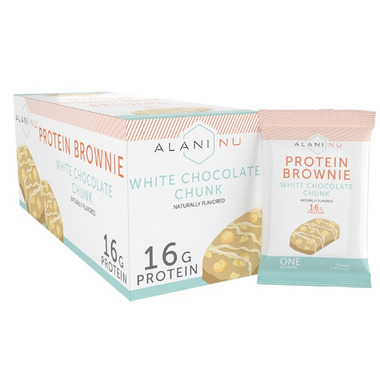Alani Nu White Chocolate Protein Brownie