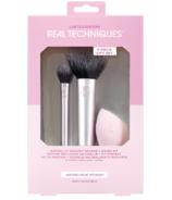 Real Techniques Naturally Radiant Sponge + Brush Set