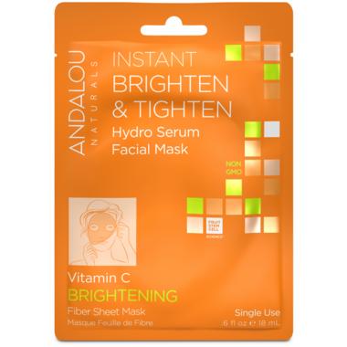 ANDALOU naturals Instant Brighten & Tighten Facial Sheet Mask