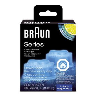 Braun Clean & Renew Cartridge Shaver Refills