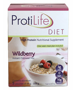 ProtiLife Wildberry Instant Oatmeal Mix