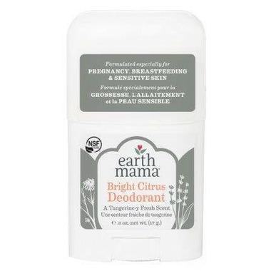 Earth Mama Bright Citrus Deodorant Travel Size
