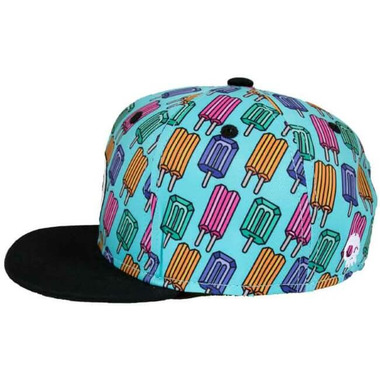 Headster Kids Snapback Hat Pop Neon