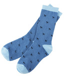 Little Blue House Women's Crew Socks - Tiny Blue Labs