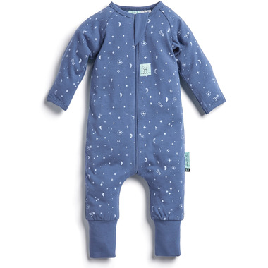 ergoPouch Organic Cotton Pajamas Long Sleeve Sleeper Night Sky 0.2 TOG