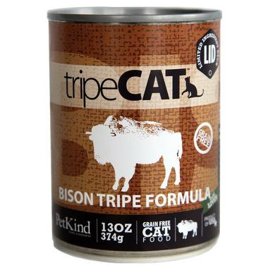 PetKind tripeCAT Bison Tripe Formula Cat Food