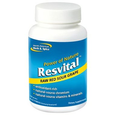 North American Herb & Spice Resvital Powder