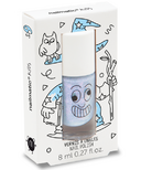 nailmatic Merlin Kids Water-Based Nail Polish Pearly Blue