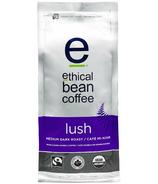 Ethical Bean Coffee Lush Medium Dark Roast Whole Bean Coffee