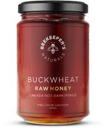 Beekeeper's Naturals Dark Buckwheat Raw Honey