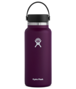 Hydro Flask Wide Mouth with Flex Cap Eggplant