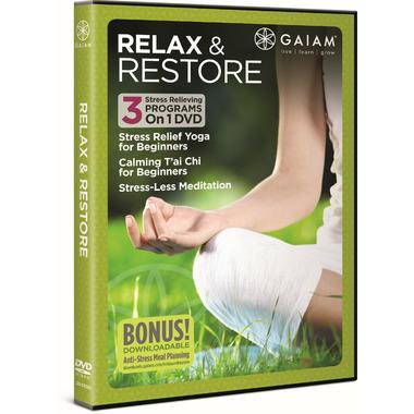 Gaiam: Relax & Restore DVD