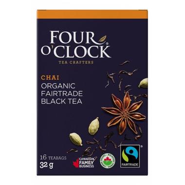 Four O\'Clock Black Tea Chai