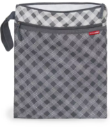 Skip Hop Grab & Go Wet & Dry Bag Gingham