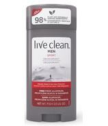 Live Clean Mens Deodorant Sport